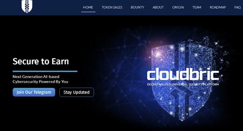 Cloudbric空投120个CLB,价值 5 USD