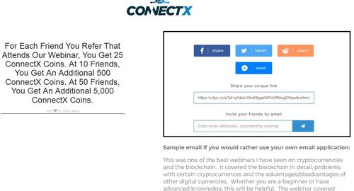 ConnectX空投25个代币