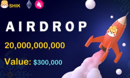 但吐空投 | SHIBA KING空投:参与空投用户可获100,000枚SHIK,每邀请1位好友得100,000枚